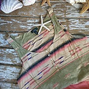 RLR tank maxi dress